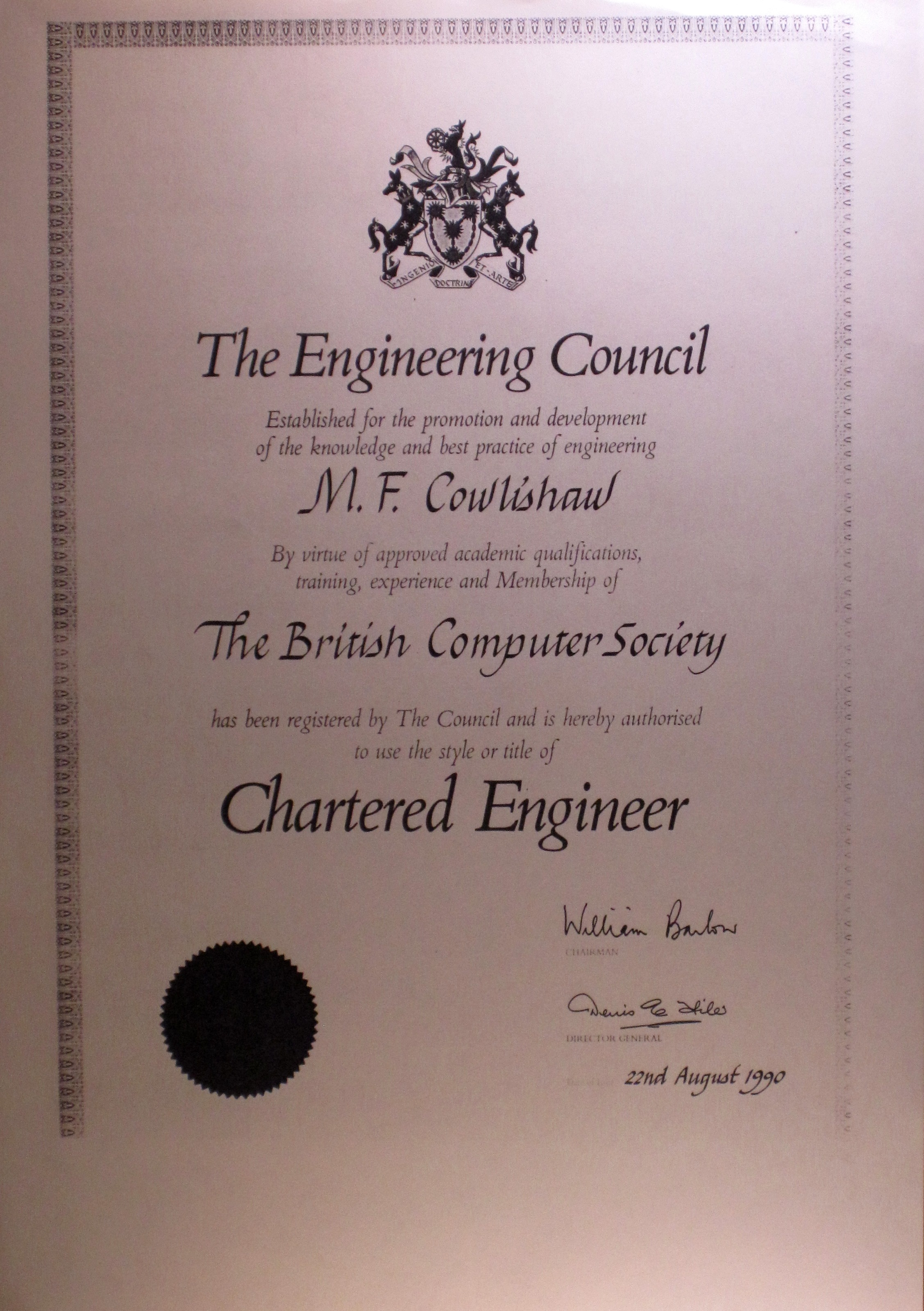 chartered engineer I am delighted to be writing this column having recently been installed as president of the mining institute of scotland it is a great honour to hold this badge of.